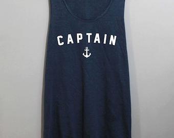Captain Shirt Tank Top Singlet Tunic TShirt T Shirt