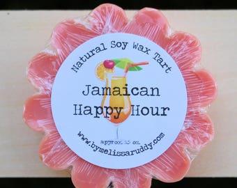 Jamaican Happy Hour Soy Wax Tart