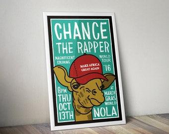 Chance The Rapper Magnificent Coloring Tour