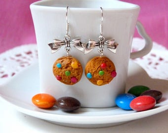 Earrings gourmet cookies and candy many