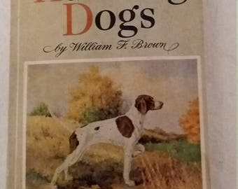 How to train Hunting Dog vintage book