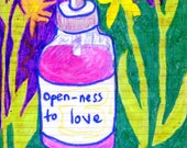 Postcard: Open-ness to Love