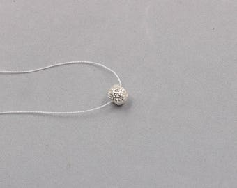 10mm Sterling Silver Hollow-carved Barrel Beads -- 925 Silver Charms Wholesale For Bridesmaid Gift Party XXSP-S0370