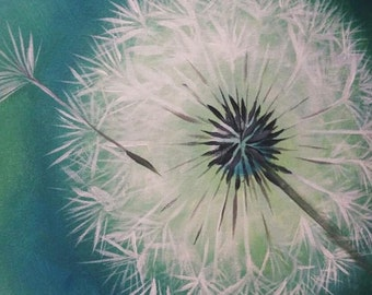 One Wish, Original painting by Susan Hunt Johnson, Printed on Artist Quality Archival Paper