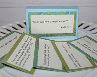 Bible Scripture Cards Hope Memory Verse Cards Bible verse cards Prayer cards Bible Journaling Devotional cards Christian inspirational gift