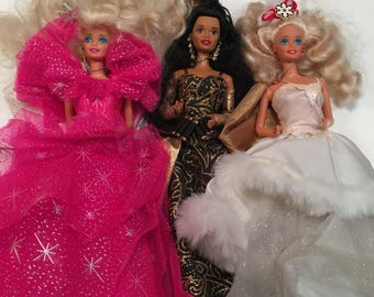 Holiday Barbies All 3