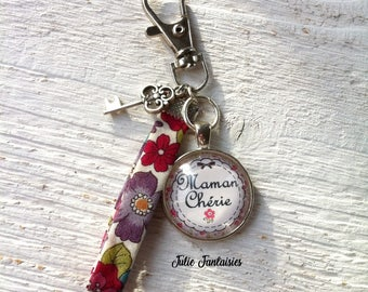 "Bag charm / bag Grigri ""Dear MOM"""