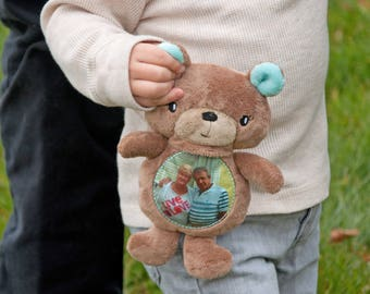 Memory Keepsake Gift, Photo Gifts, Long Distance Gifts, Keepsake Bear, Birthday Gift for Grandchild, Sentimental Gift, Gift for Grandparents
