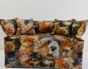 Kitten Couch/Sofa Tissue Box Cover