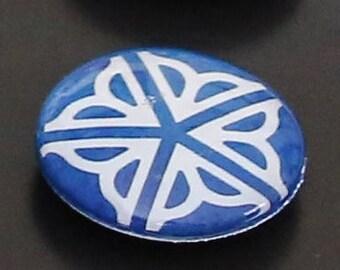 Flower City logo magnet, Rochester, NY, ideal gift for Rochesterians, love of Rochester, fridge magnet, lilac symbol