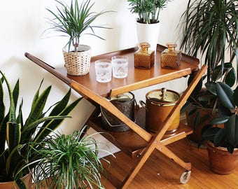 Mid Century Bar Cart Server FREE Shipping Special