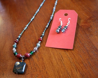 Jasper Jewelry Set