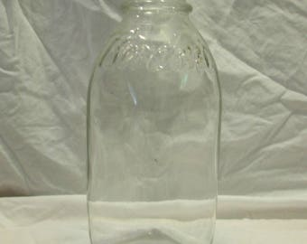 Milk Bottle, Borden's, One Quart, 1940's