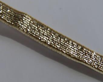 Pretty Ribbon Lurex gold