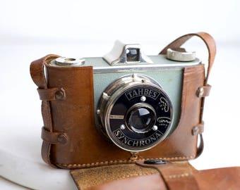 Tahbes Synchrona Medium Format 120 Film Camera - Rare Camera from The Netherlands