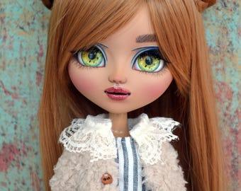 Reid - Custom Mocha MIO Pullip Doll