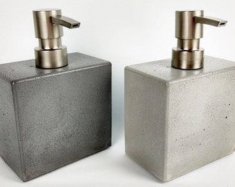 Concrete Soap Dispenser / Concrete Soap Pump / Kitchen Soap Dispenser Pump / Liquid Soap Dispenser / Bathroom Organization