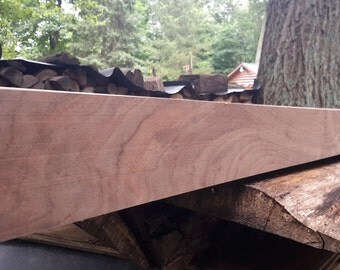 Solid Walnut Fireplace Mantle