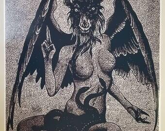 Satanic Goat Skull Drawing   www.pixshark.com - Images ...