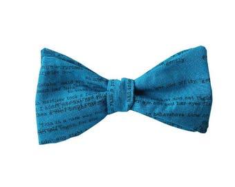 The Anne (Self tie cotton bow tie)