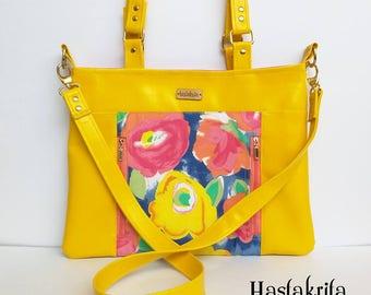 Jayne Bag PDF Sewing Pattern, tote bag, everyday bag, handbag, bag sewing tutorial, cross body bag pattern, shoulder bag, market bag