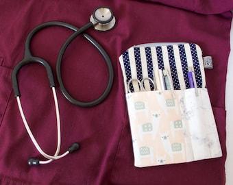 Nursing Student.Dental Assistant Gift.ALPACA+MARBLE Medical Pocket Pouch.Dental Hygienist.Nurse Gift.Vet Tech Gift.Physician Assistant. PA
