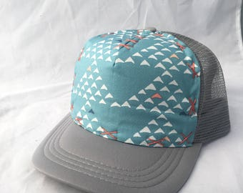 Triangle Mountain Adult Trucker Hat