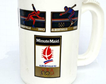 1992 Minute Maid Olympic Cup,1992 Plastic Cup ,Olympic Minute Maid Cup,Olympic Cup,1992 Olympic Cup,Olympic Plastic Cup,Minute Maid Juice