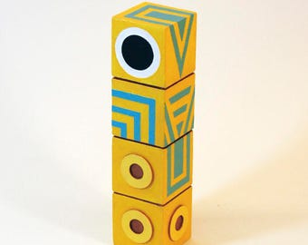 Totem. Monument Valley Game Figure.