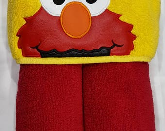 Kid's Hooded Towel,  Character Inspired Hooded Towel, Bath Towel, Beach Towel, Toddler Towel