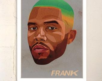 "Frank Ocean Poster 13""x19"""