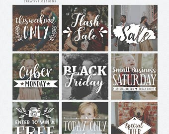 Sales & Promotions Photography Overlays, Word Art, Photo Quotes, Sale, Mini Session, Word Overlays, Photoshop Templates, PSD files, PNG