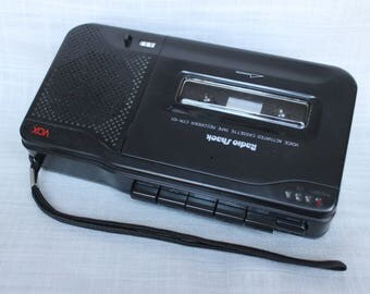 Radio Shack CTR-101 Voice Activated Cassette Tape Recorder, VOX 14-110, Tested
