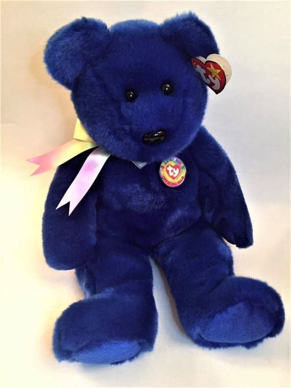 Ty Beanie Babies Ty Clubby Bear 15 Official Club Bear