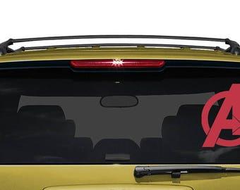 Avengers Marvel Logo- Decal - Car - Mac - Mug Free Shipping