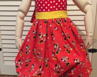 Minnie Mouse Bubble Dress 3T