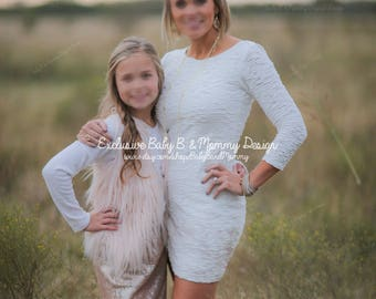 Mommy and Me Sequins Dress, Sequins Maxi Skirt, Sequins Mini Skirt, Sequins Maternity Dress