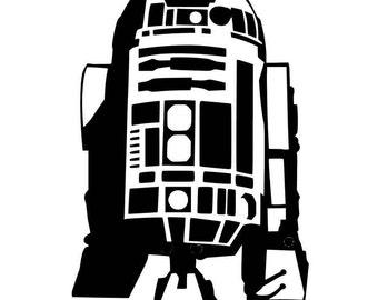 Star Wars R2-D2 Vinyl Decal Sticker