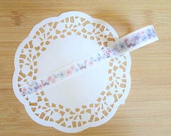 Planner Accessories: Spring Butterfly Washi Tape - for Planners & Scrapbooks!