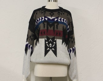 vintage southwestern sweater