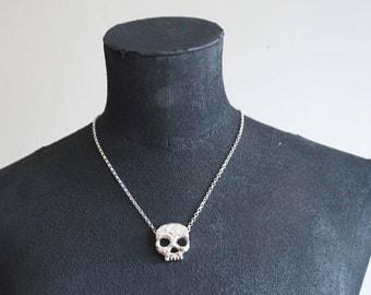 Large Phantom skull necklace
