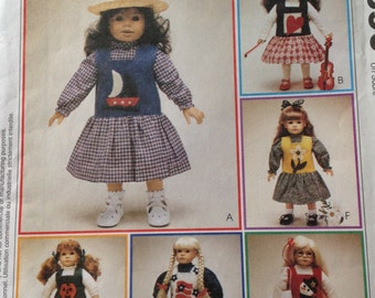"""Jumper, blouse and top for 18 inch doll, applique jumper for 18 inch doll, Halloween jumper, snowman jumper, nautical jumper for 18 """" doll"""