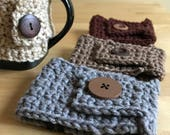 Coffee Mug Cozy, Mug Cozy, Coffee Cozy, Cozy Mug, Crochet Mug Cozy, Reusable Coffee Sleeve, Mug Sleeve, Mug Warmer, Cup Cozy, Coffee Sleeve