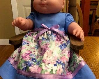 "15 inch doll dress, 15""  Bitty Baby Dress"