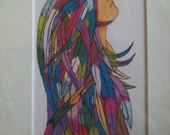 feather dream Print