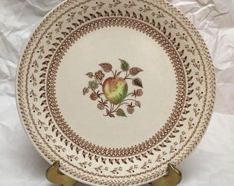 Johnson Bros Old Granite Fruit Sampler salad plate