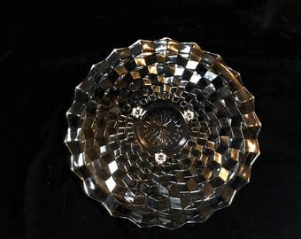 "Whitehall (Clear) ""Colony"" Footed Cake Plate by Indiana Glass"