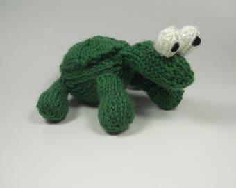 Turtle stuffed animal   Knit toy   Handmade toy   Wool toy   Knit stuffed animal