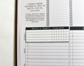 Passion Planner Weekly Habit Tracker Stickers for Compact and Classic! Great for any other journal or planner as well