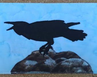 Postcard - Bossy Crow